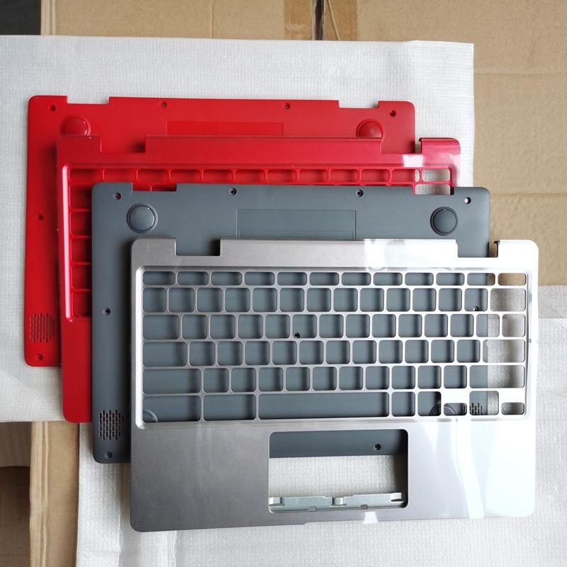 جديد محمول العلوي حافظة قاعدة غطاء palmrest/أسفل الحال بالنسبة لشركة آسوس ChromeBook C223 C223NA-DH02