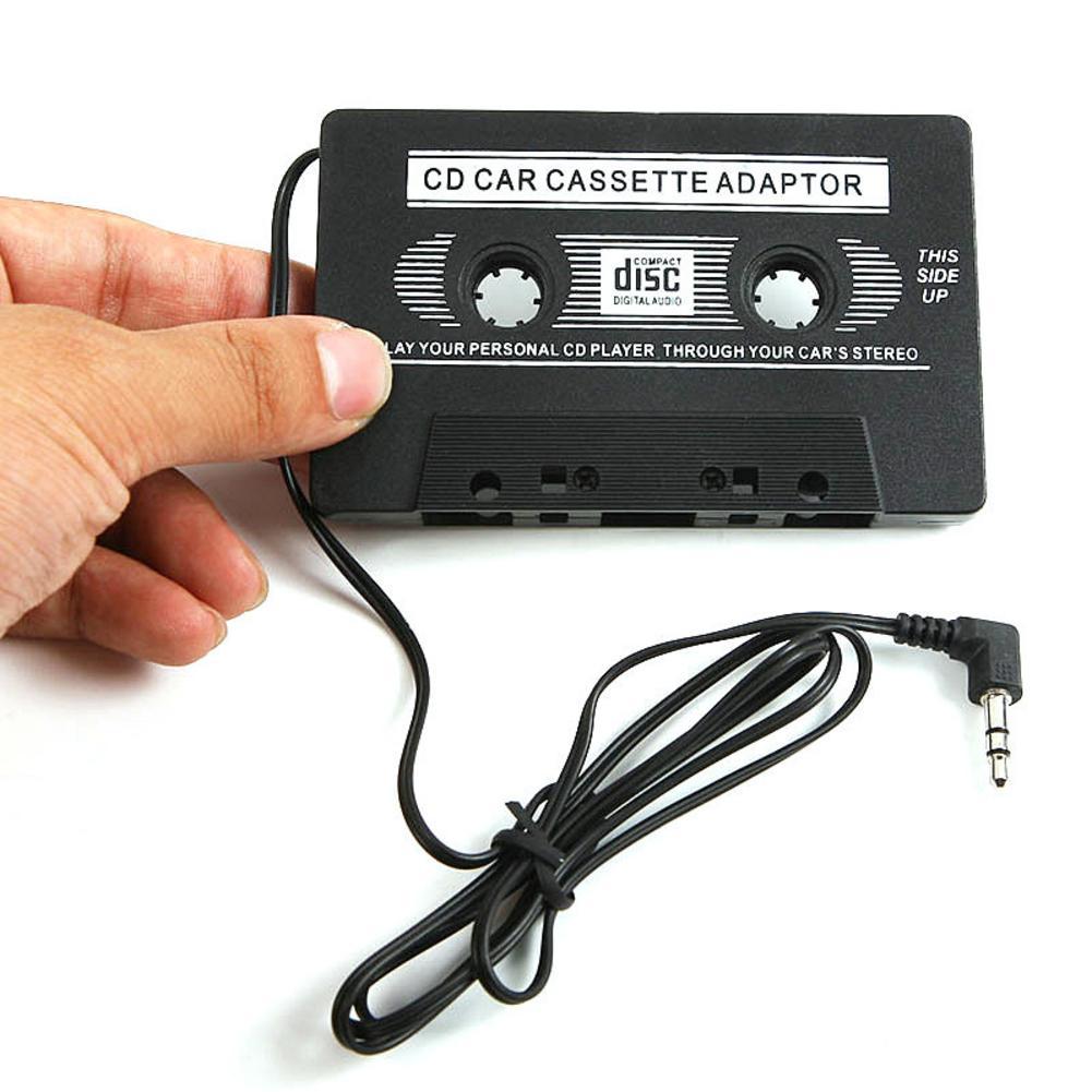 Nuevo adaptador de casetes de cinta para coche, convertidor de reproductor de Mp3, Cable AUX, reproductor de CD, enchufe de 3,5mm