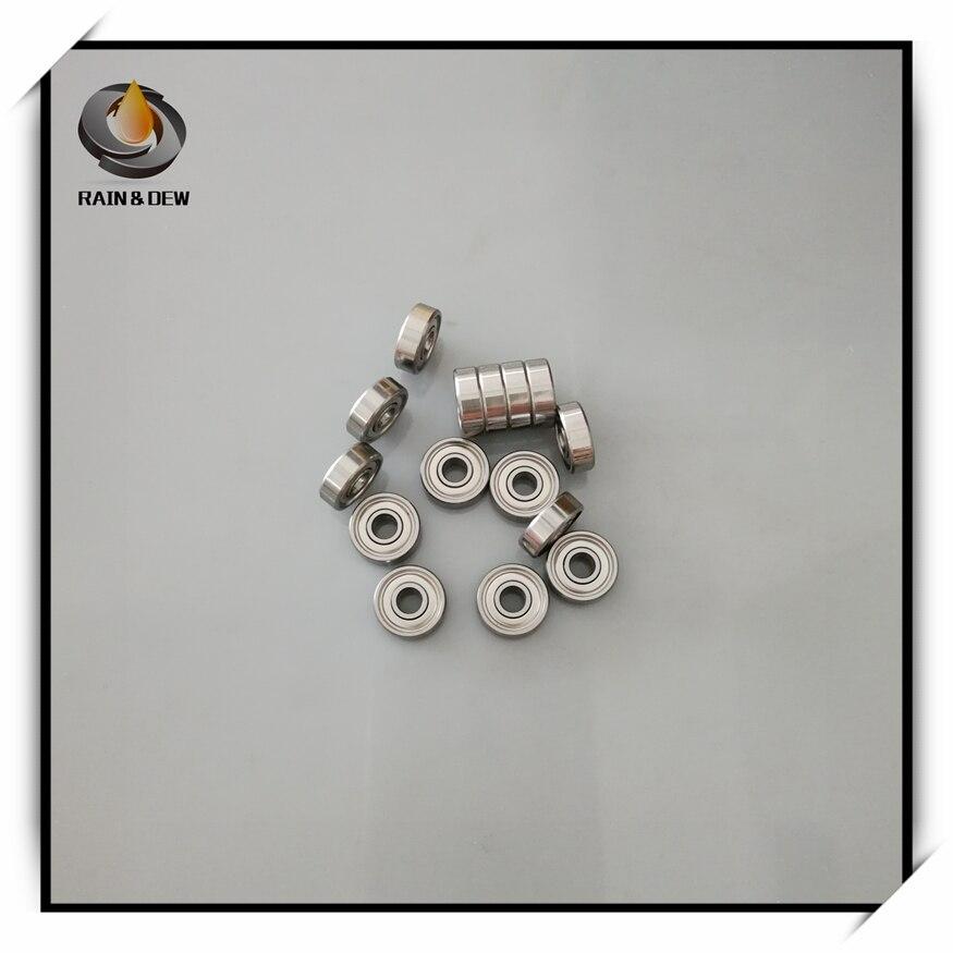10 Uds SR166ZZ rodamiento R166 4.763X9.525X3 175 de acero inoxidable rodamiento ABEC-7