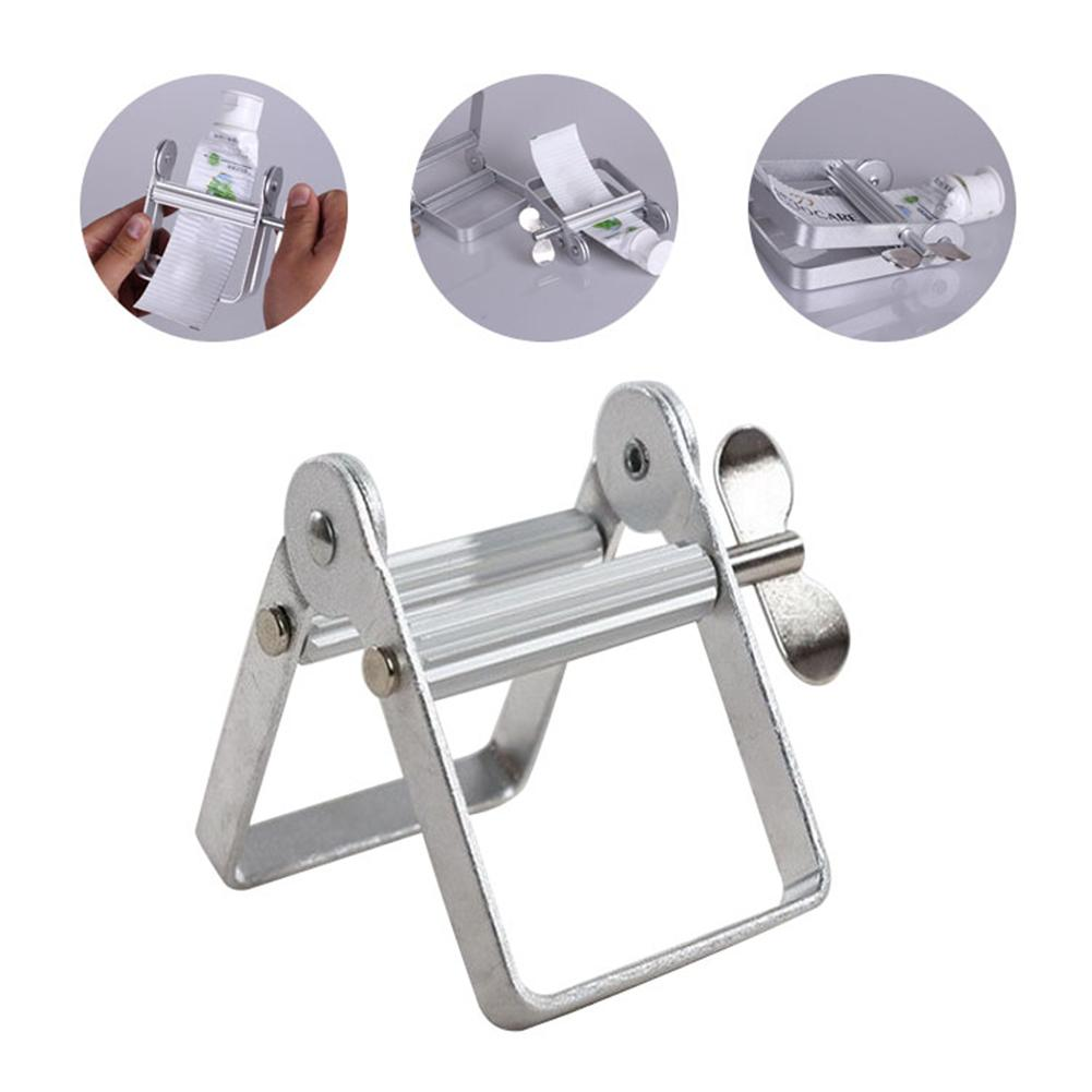Metal Toothpaste Squeezer Roller Oil Paint Extruder Oil Paint Hair Color Dye Cosmetics Tube Wringer Bathroom Tools