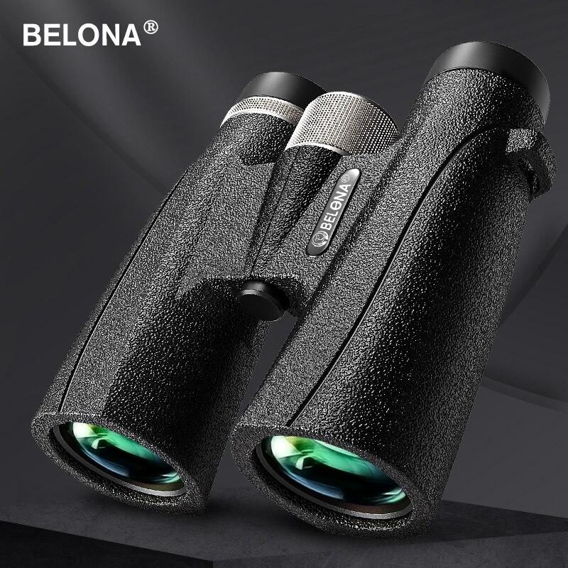 Binoculares impermeables de aleación de magnesio, prismáticos BAK4 HD FMC con recubrimiento,...