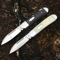 brother 1503 60hrc pocket knife modern tradtional folding knives vg10 steel carbon fiber folder tactical edc tool collection
