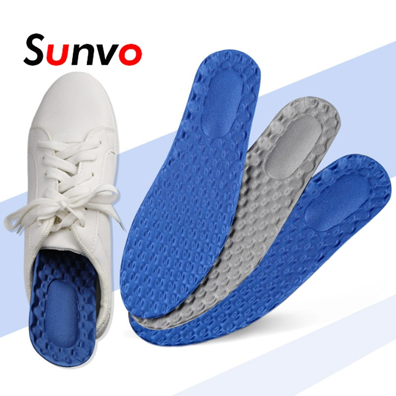 Sports Strong Cotton Orthopedic Foot arch Support insole Flat Foot Running Breathable Massage insole Men and Women insole Pad 1 pair flat feet arch support insole silica orthotics superier breathable latex leather insole foot pad