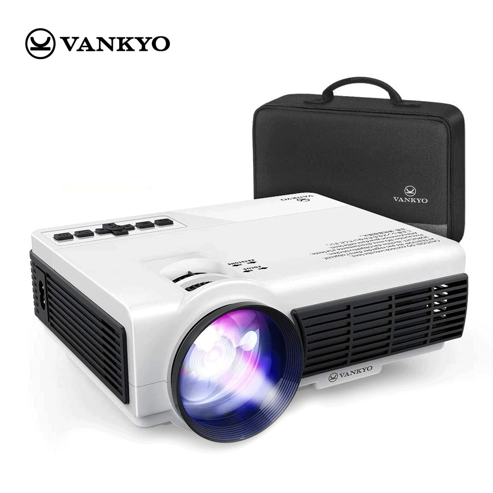 VANKYO Leisure C3WQ mini Projector Support 1920*1080P 170'' Wifi Sync Display Portable Projector for