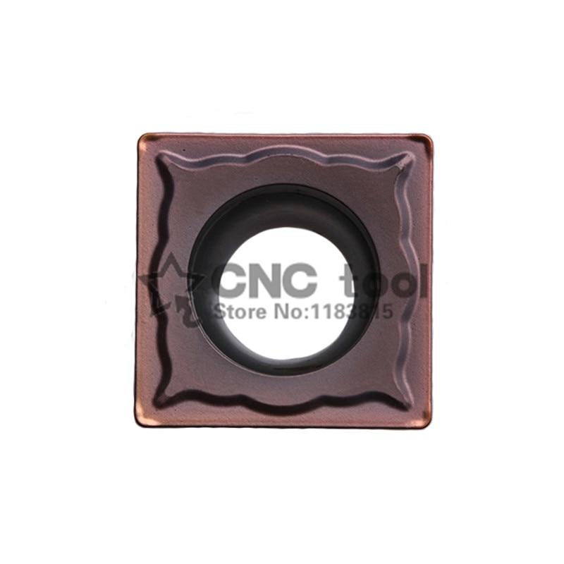 SCMT09T304-EM YBG205 SCMT09T308-EM YBG205 * 10 Uds inserto giratorio, cuchilla de corte para soporte SSSCR/SSDCN, punta giratoria para acero