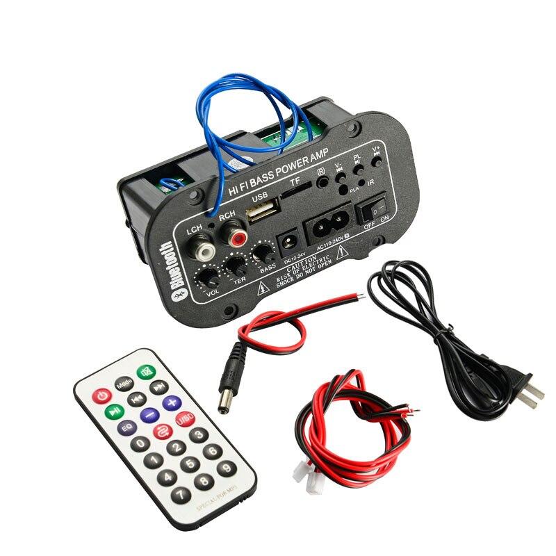 Placa amplificadora Digital Subwoofer con Bluetooth, Amplificador de Audio de 25W con...