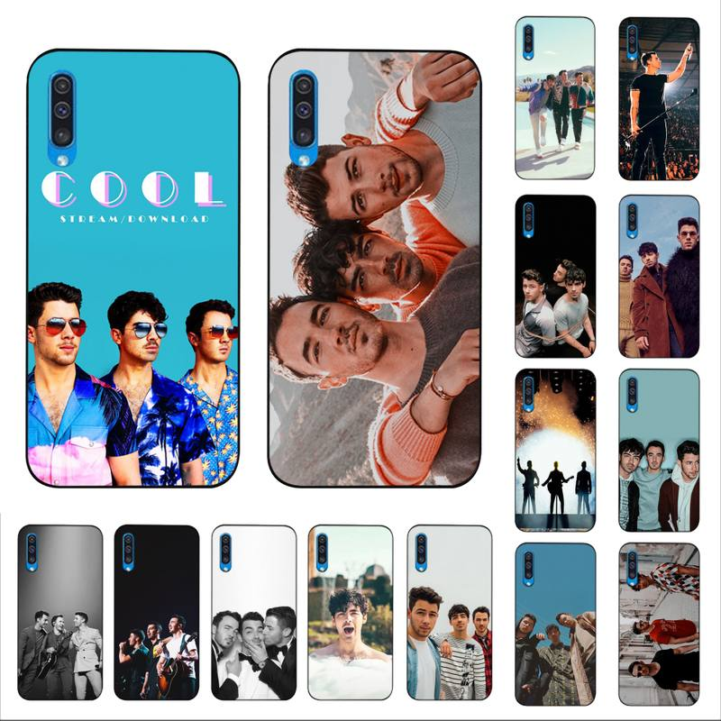 MaiYaCa Kevin Joe Nick Jonas Brothers étui de téléphone pour Samsung A30s 51 5 71 70 40 10 20 s 31 A7 A8 2018