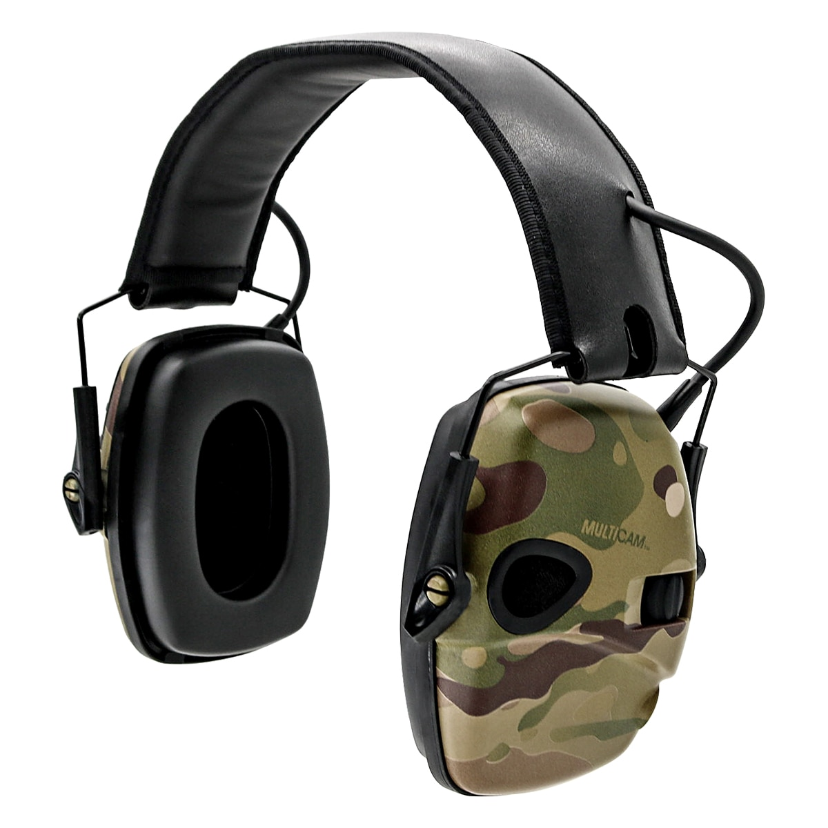 سماعات رأس تكتيكية مموهة متعددة حدبة إلكتروني للأذنين للتصويب أدوات تصيد للأذنين تكتيكية للحد من الضوضاء