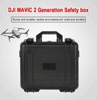 Waterproof Hardshell Carrying Case For DJI Mavic 2 Pro Mavic 2 Zoom Explosion-proof Bag High Capacity Storage Box