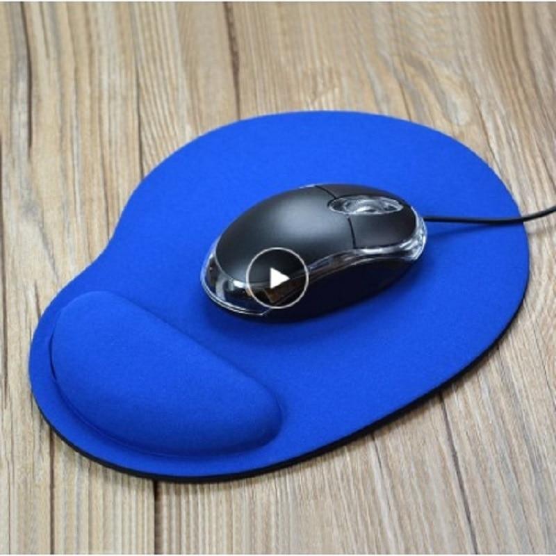 Alfombrilla de ratón para ordenador, almohadilla de escritorio acolchada con protector de...