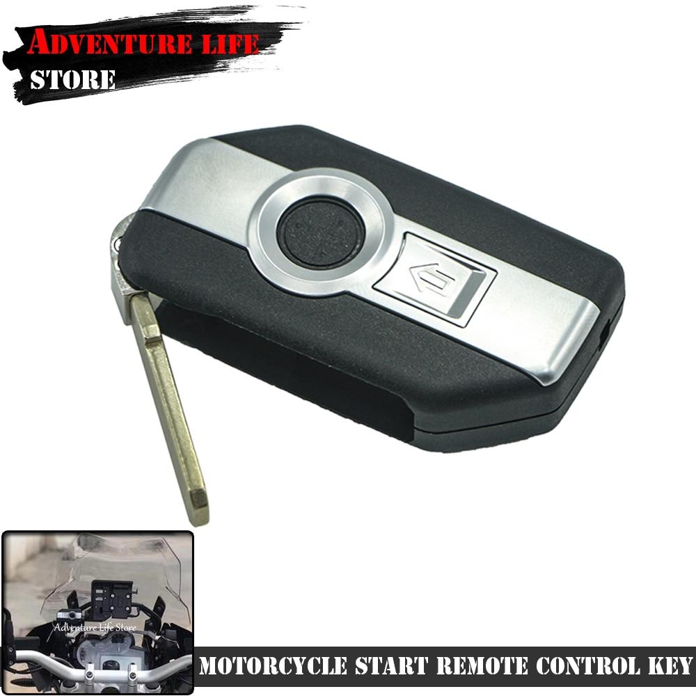 دراجة نارية بدء مفتاح تحكم عن بعد غير مصقول شفرة بنقرة واحدة بدون مفتاح لسيارات BMW R1200GS R1250GS R1200RT K1600 GT GTL F750GS F850GS ADV