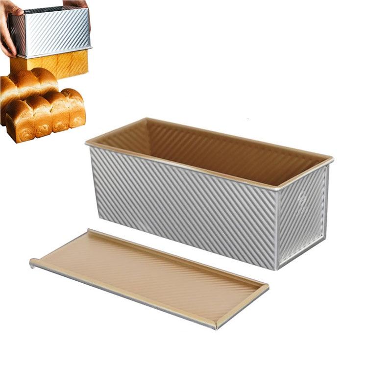 الخبز نخب قالب غير عصا رغيف عموم مع غطاء الخبز عموم خبز الخبز نخب صندوق أدوات الخبز ورق الخبز عموم