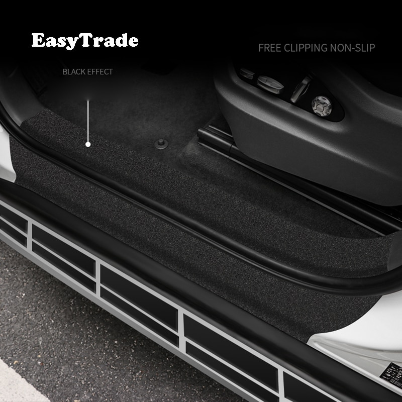 Auto Aufkleber Für Hyundai Santa Fe 2020 2019 Auto Stamm Einstiegs Anti-scratch Aufkleber Bumber Anti-skid schutz Band 5 10 Meter