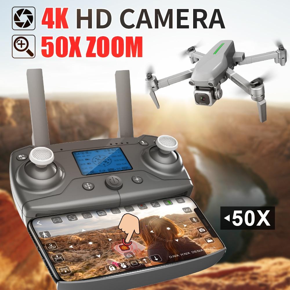 Dron L109 con Gps 4k Hd Cámara 5g Wifi Fpv Motor sin escobillas plegable Rc Quadcopter Drones profesional 1000m distancia Drone juguete