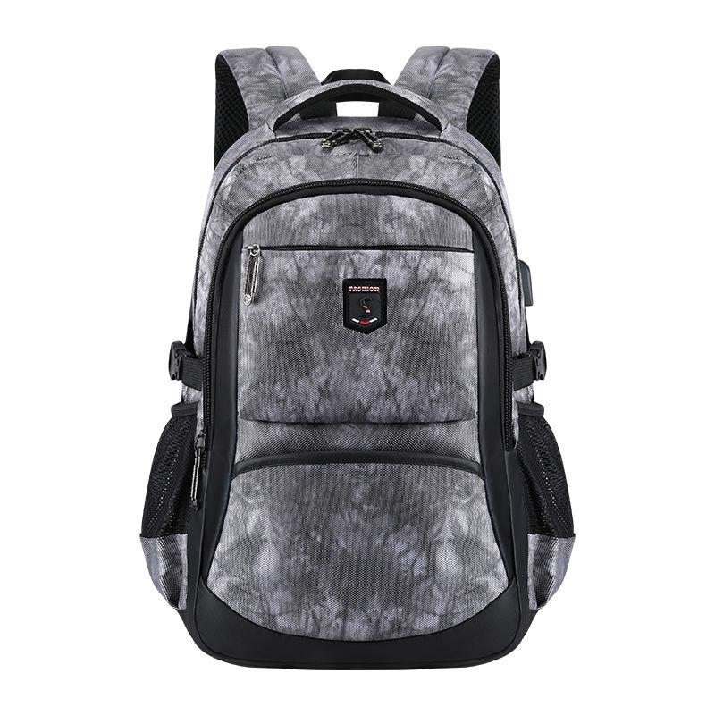 Mochila para ordenador portátil de 17 pulgadas, mochila de gran capacidad con USB, mochila Oxford a prueba de agua, mochilas escolares multifunción para chicos y adolescentes