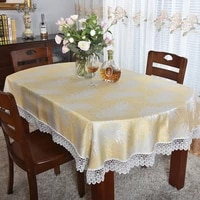 simple modern oval table cloth foldable retractable tablecloth summer semicircle coffee table living room household tablecloth