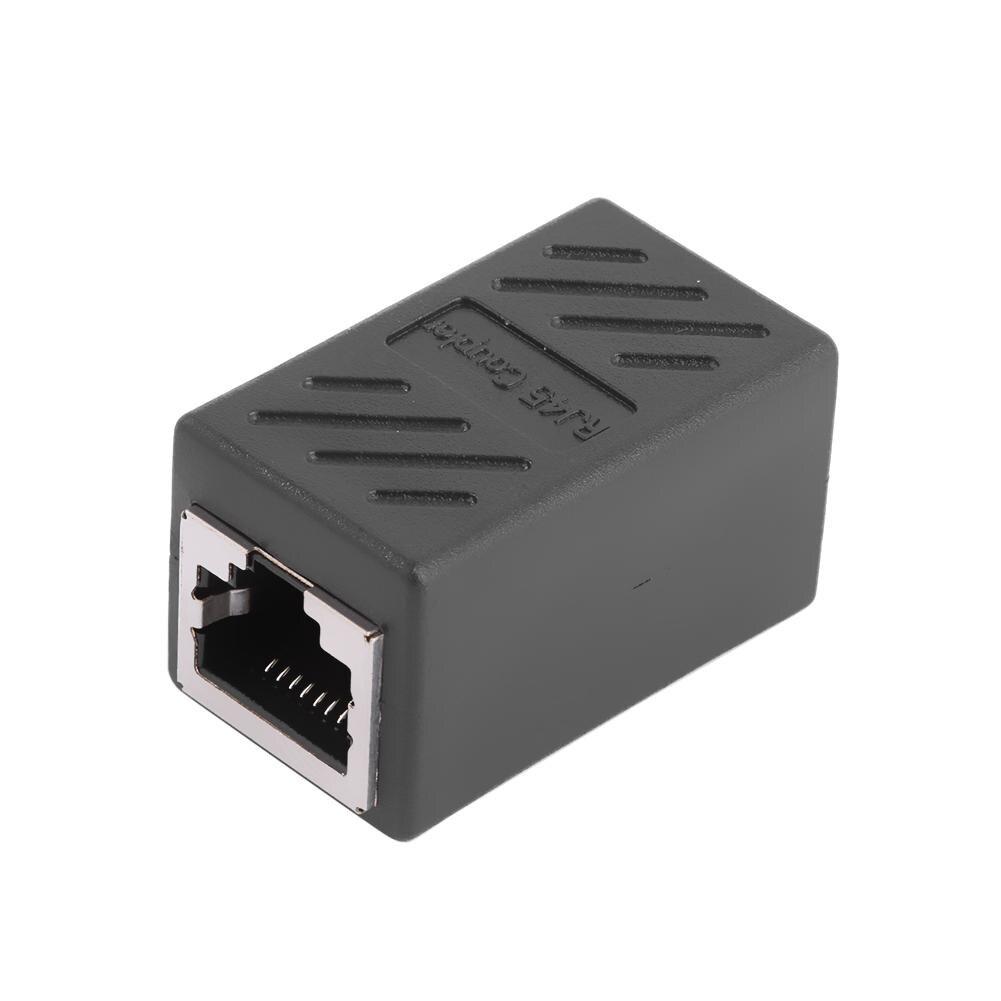 5 paquets RJ45 coupleur en ligne femelle à femelle Cat7 Cat6 Cat5e Ethernet LAN câble réseau adaptateurs connecteurs de convertisseur