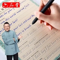 3pcs adult students italian english italic practice copybook hard pen grooves can be wholesale books libros quaderno chinese