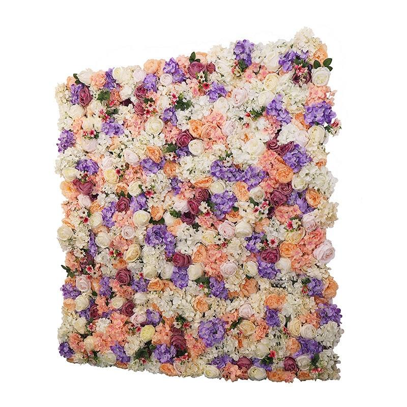 Three-Dimensional Flower Wall Background Wall Photography Studio Wedding Shop Layout Green Wall Indoor Simulation enlarge