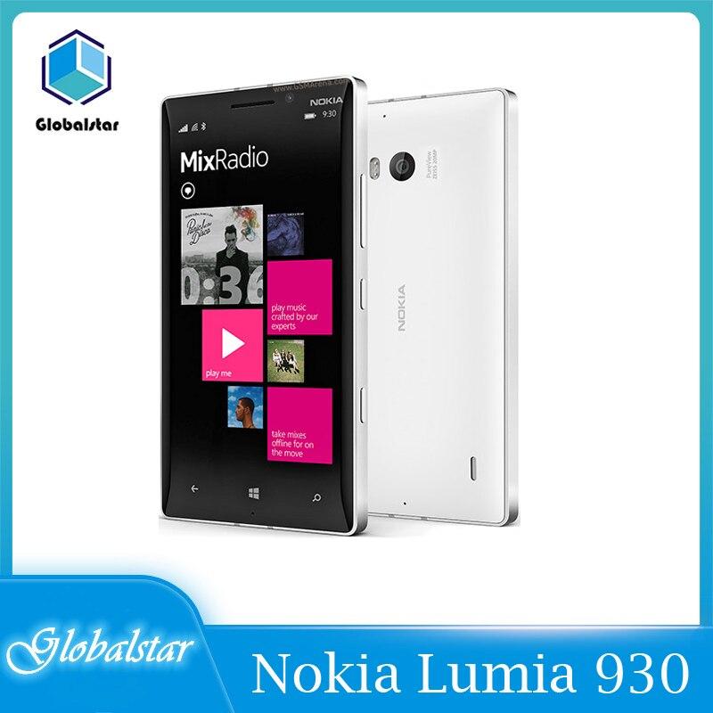 Original Nokia Lumia 930 desbloqueado 2GB RAM 32GB ROM 20.0MP Cámara Quad...