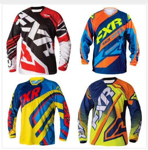 FXR-camiseta de Motocross, camiseta de manga larga para Moto, camiseta de Motocross,...