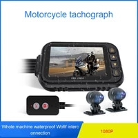 motorcycle dash cam camera dual lens driving recorder waterproof motorbike autocycle dvr dash cam motorcycle supplies t35a