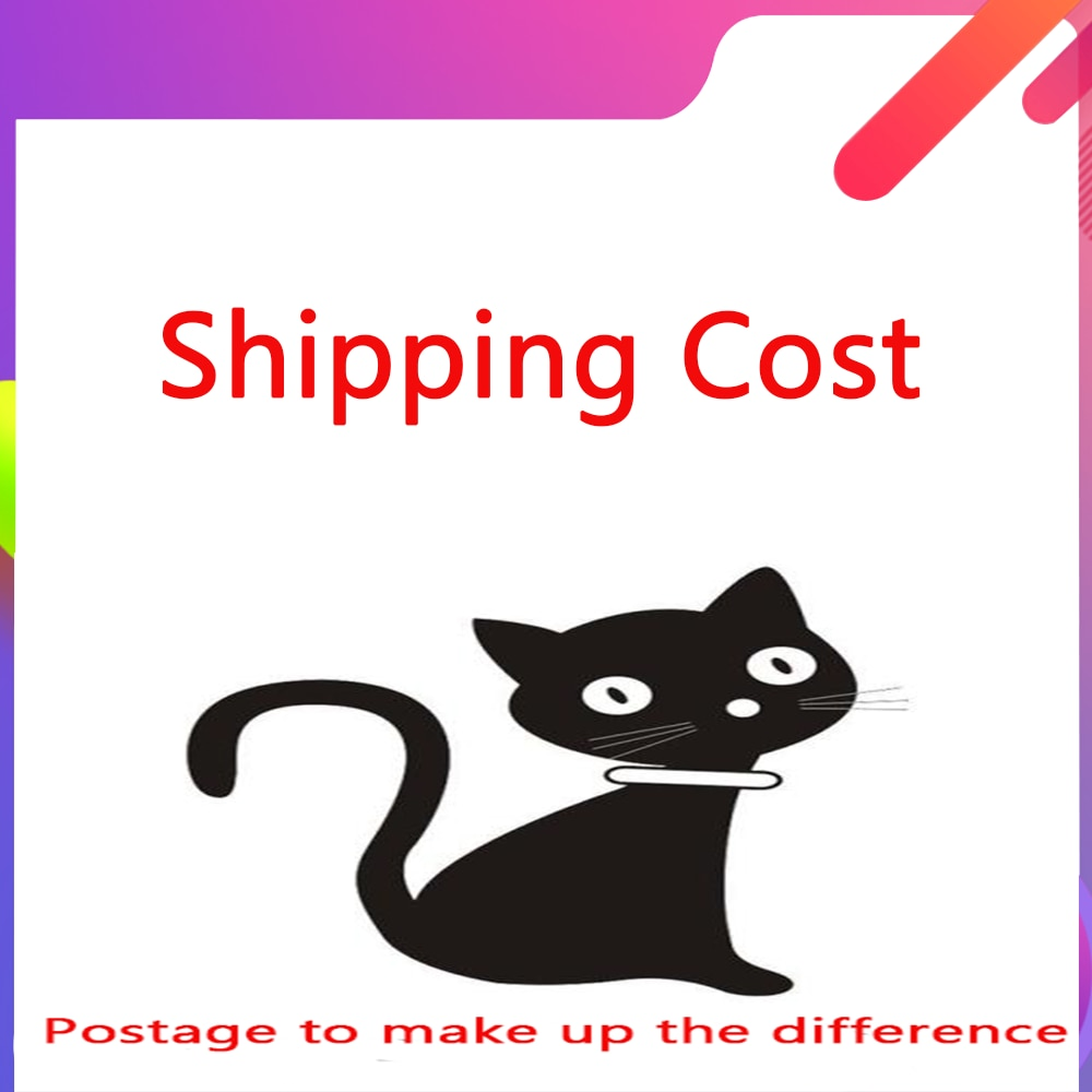 Extra Fee shipping cost / price difference or refund