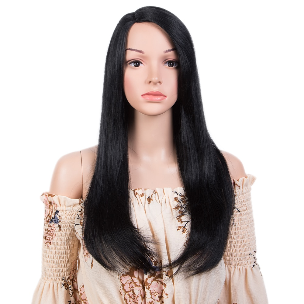 elegante perucas de cabelo humano para as mulheres destaque colorido perucas de cabelo