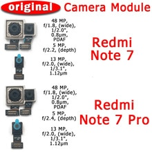 Original Front and Rear Back Camera For Xiaomi Redmi Note 7 Pro Main Facing Camera Module Flex Cable