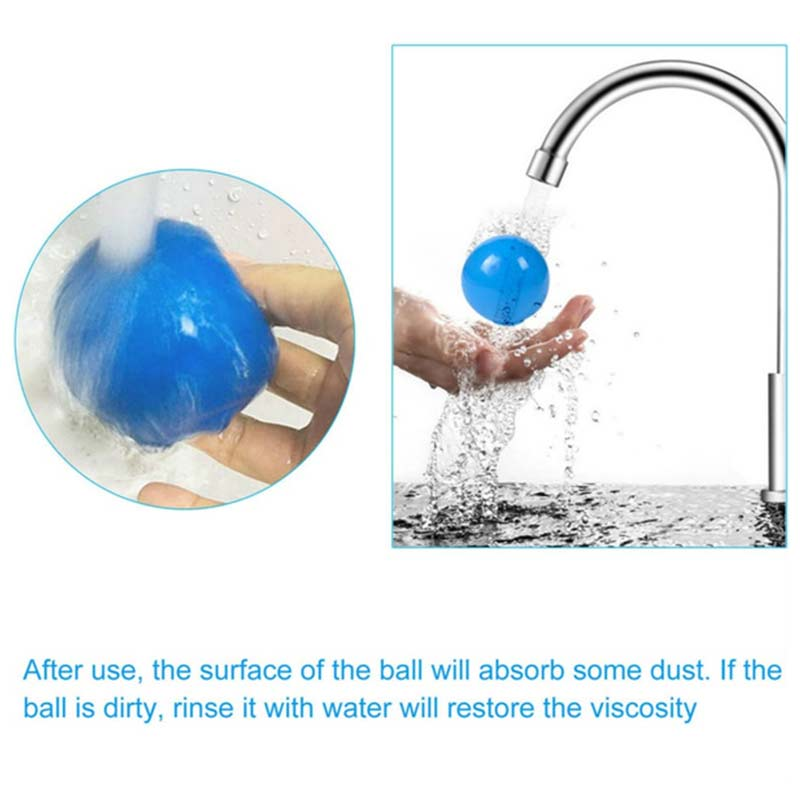 4pcs Luminous Sticky Wall Ball Toys Sticky Wall Ball Suction Wall Luminous Toy Ball Children Adult Decompression Wall Ball Toy enlarge