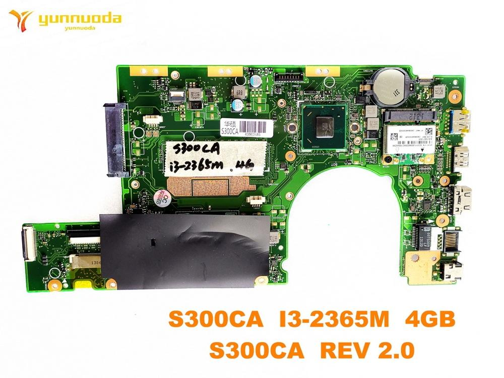 الأصلي ل ASUS S300CA اللوحة المحمول S300CA I3-2365M 4GB S300CA REV 2.0 اختبار جيد شحن مجاني