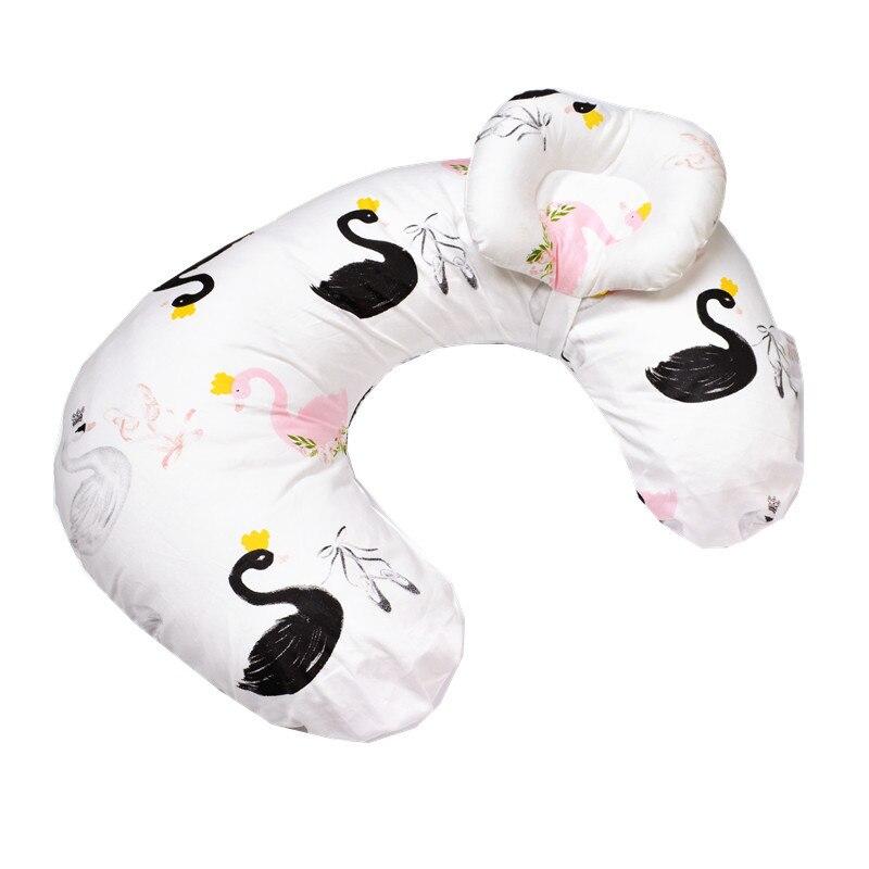 newborn baby pillow Head Positioner Sleeping toddler Breast feeding baby pillow for mummy Printing cotton YCZ001
