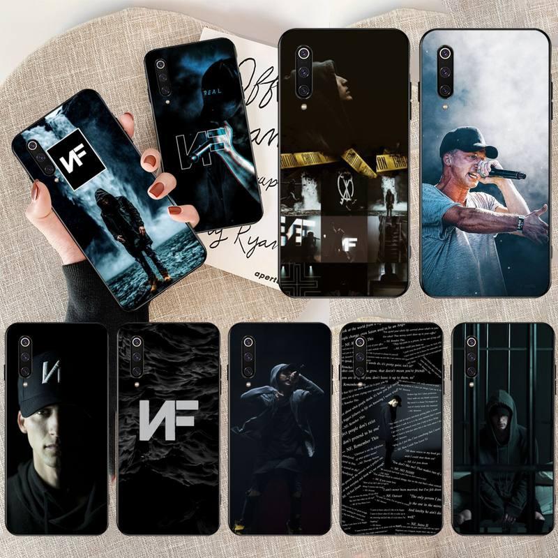 PENGHUWAN NF Rapper Luxury Unique Design Phone Cover for Xiaomi Mi9 9SE 8SE Pocophone F1 Mi8 Lite