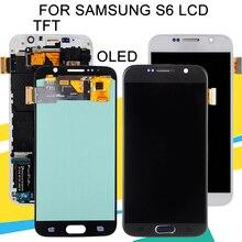 1 Uds. 5,1 pulgadas h920f G920 pantalla para Samsung Galaxy S6 pantalla Lcd con montaje de digitalizador con pantalla táctil G920V G920A pantalla
