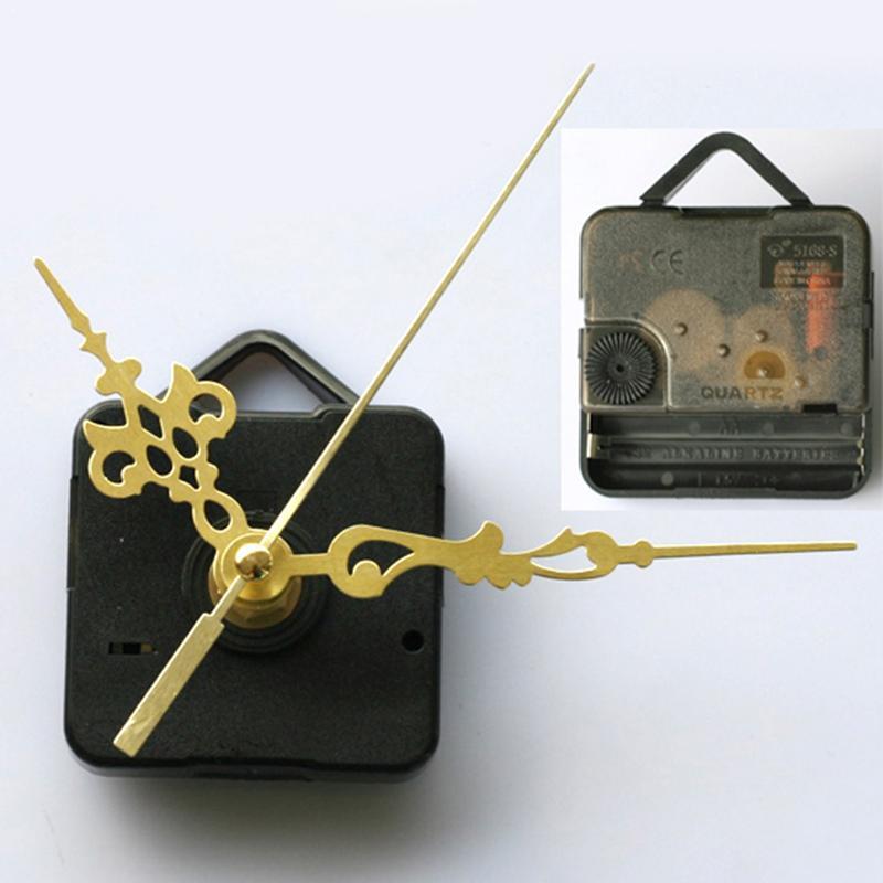 1pcs Professional Clock Mechanism Clockwork Practical Wall Tool Hand Mechanism Clock Kit Black Parts