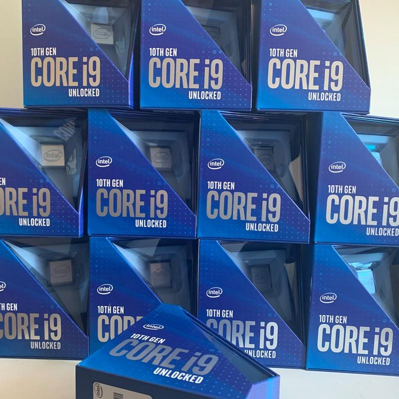 [해외] 오리지널 신제품 no box 11 세대 I9 코어 프로세서 i9-10850K/i9-10900F/i9-10900/i9-10900K/i9-10900KF