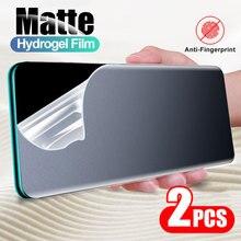 Matte Hydrogel Film For Xiaomi Note 10 Lite 11 10T 9 SE 9T 8 Screen Protector For Redmi Note 10 Pro Max 9 9S 9A K20 K30 No Glass
