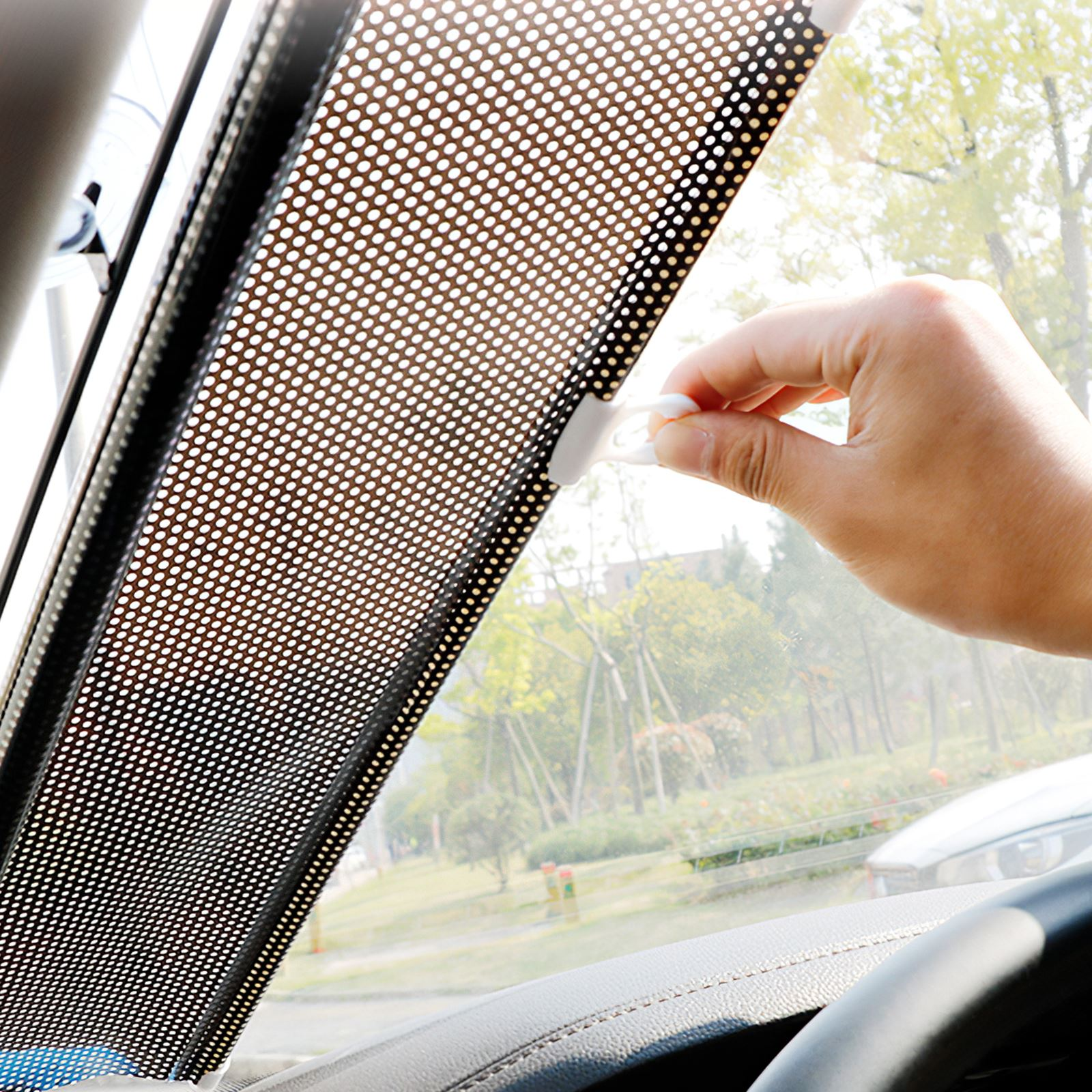 Новый Автомобильный солнцезащитный автоматический телескопический автомобильный солнцезащитный козырек Автомобильная теплоизоляционна...