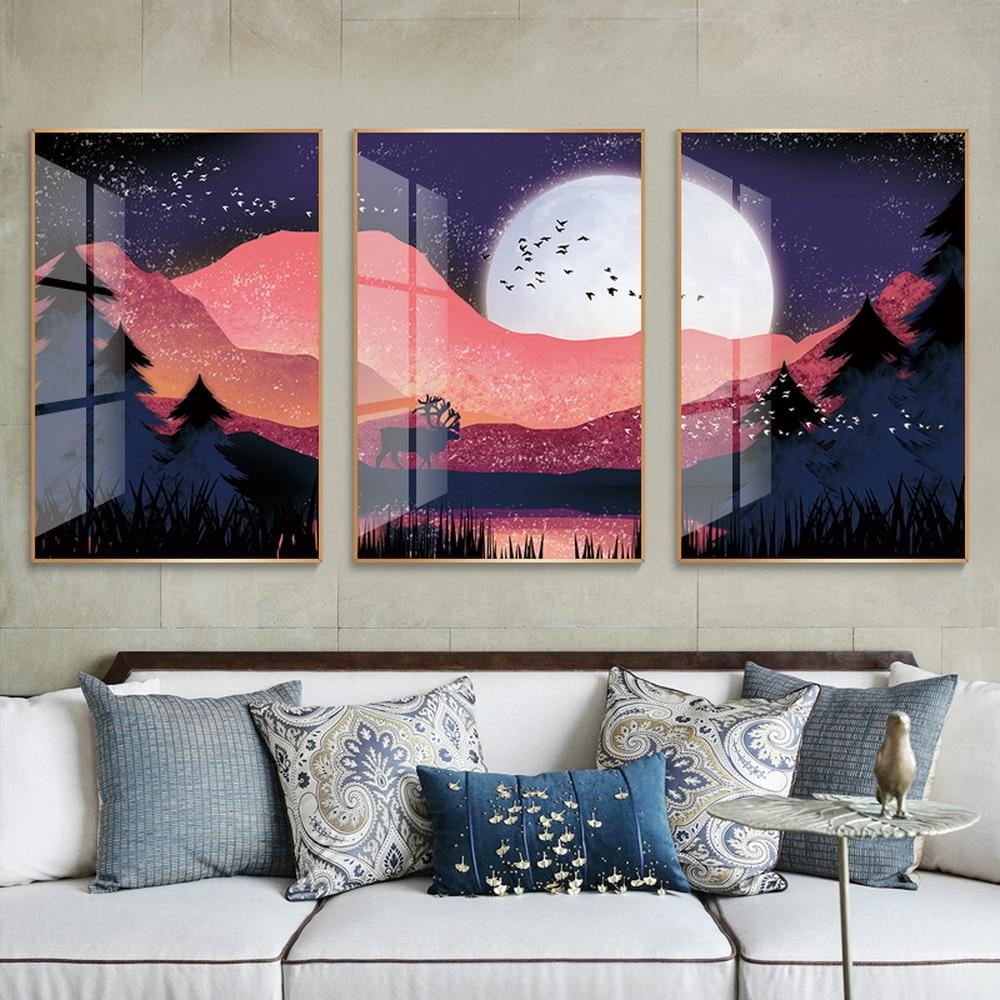 Decoración de cuarto de bebé, decoración de hogar, cuadros, marcos de fotos de pared