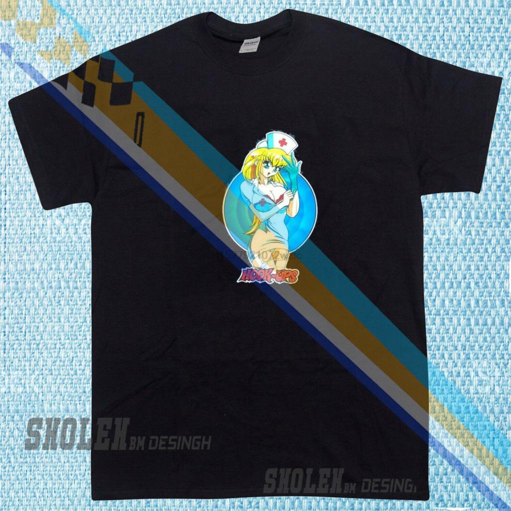 New Limited HOOK UPS skateboard jeremy klein sean cliver anime T-SHIRT p9l