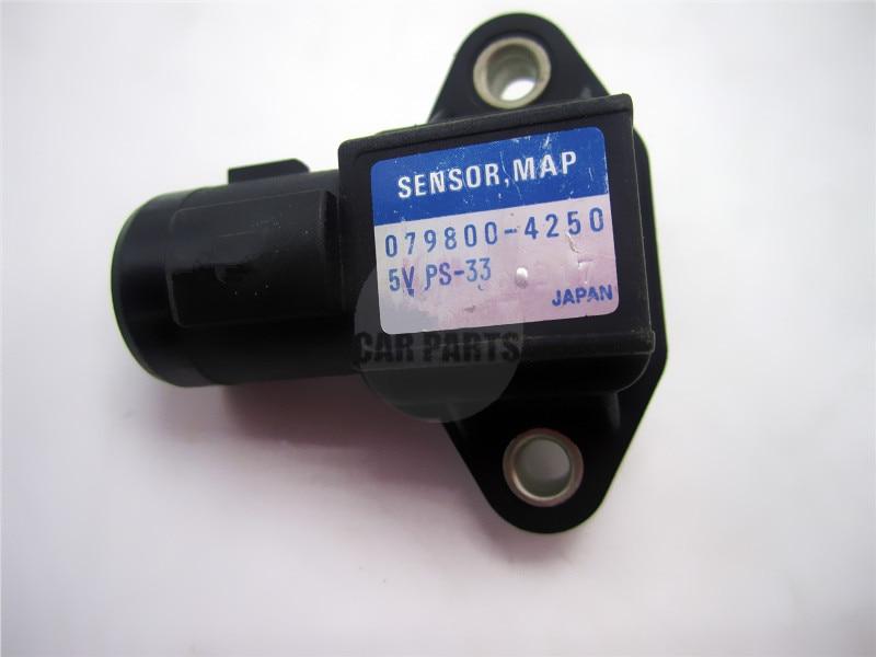 079800-4250  Air Pressure Sensor MAP Sensor OEM 37830-P05-A01 37830-P0G-S00 079800-4250 FOR Honda Accord Civic Rover Sensor