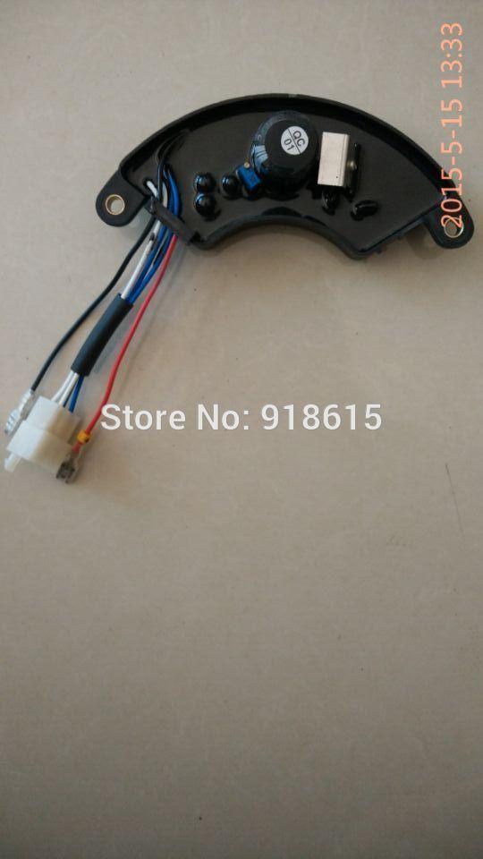 Peças do gerador regulador automático de tensão AVR 5kw monofásica HJ.5K18-BX