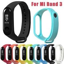 25 # sport Weiche Tpe Sport Silikon Ersatz Armband Handgelenk Gurt Für Xiao Mi Band 3 Verstellbaren Riemen Uhr Zubehör