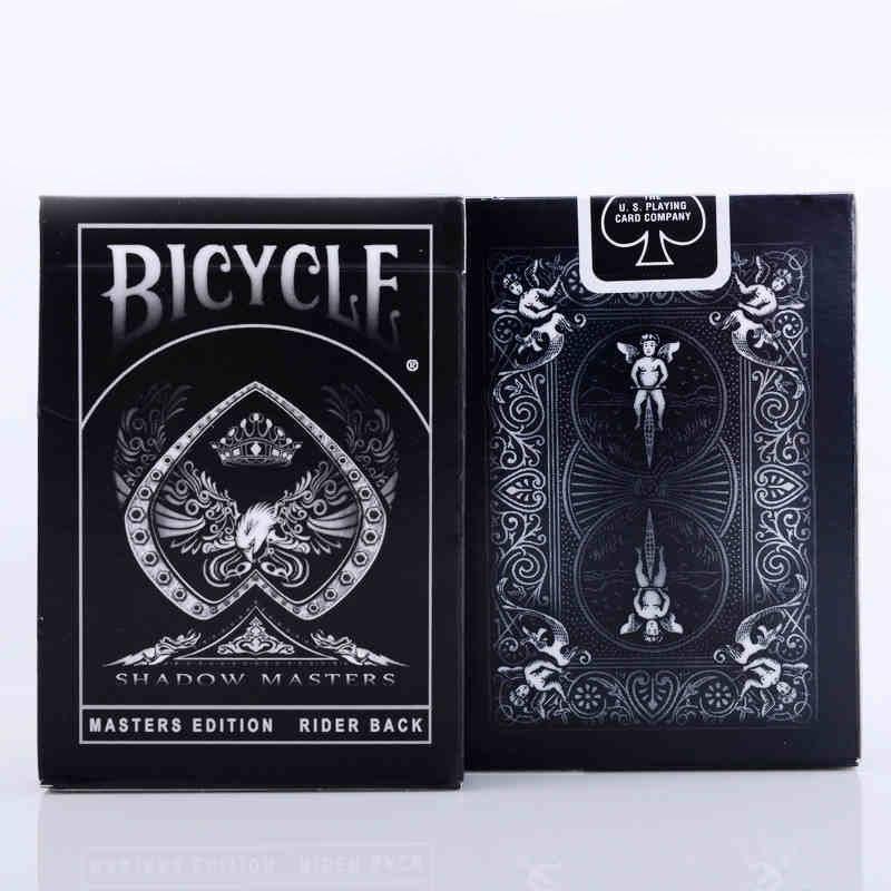 1 cubierta cartas Bicycle sombra Masters Ellusionis bicicleta jugando a las cartas Regular mazo de bicicleta jinete la magia truco de magia