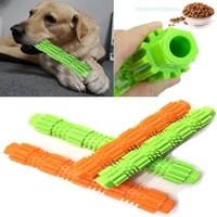 dog chew toys dog toothbrush pet molar tooth cleaner brushing stick doggy puppy teeth cleaning dog pet puppies dog rubber toys