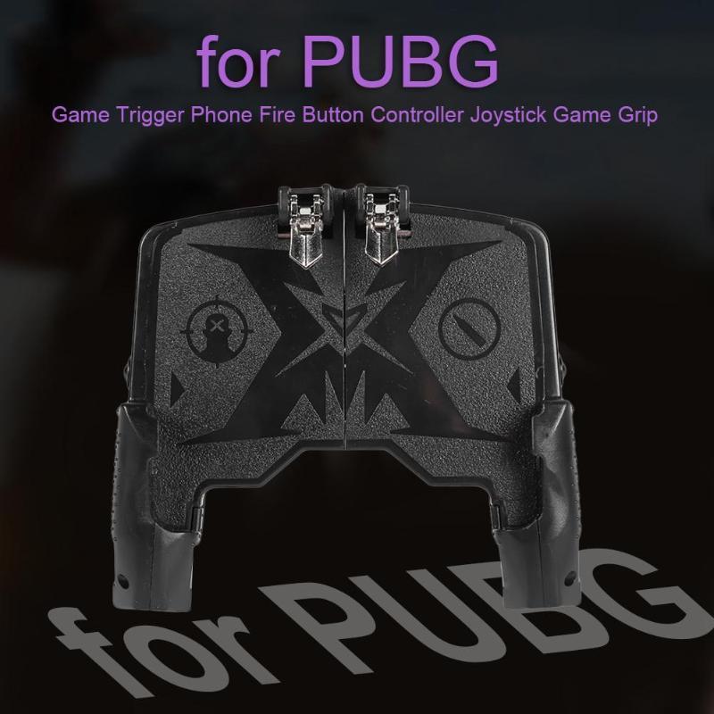 Mango de juego K21 para PUGB Helper 4 Finger ergonómico Grip Link disparo rápido botón controlador teléfono móvil Universal
