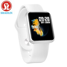 Smart Watch Band Waterproof Smartwatch Dynamic Heart Rate Blood Pressure Monitor for Apple iPhone An