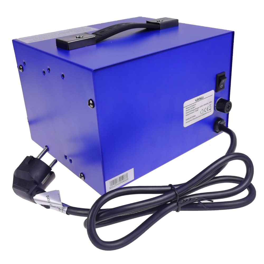 high-power disassembly welding table YIHUA862BD+ two-in-one digital display anti-static air gun table hot air welding table enlarge