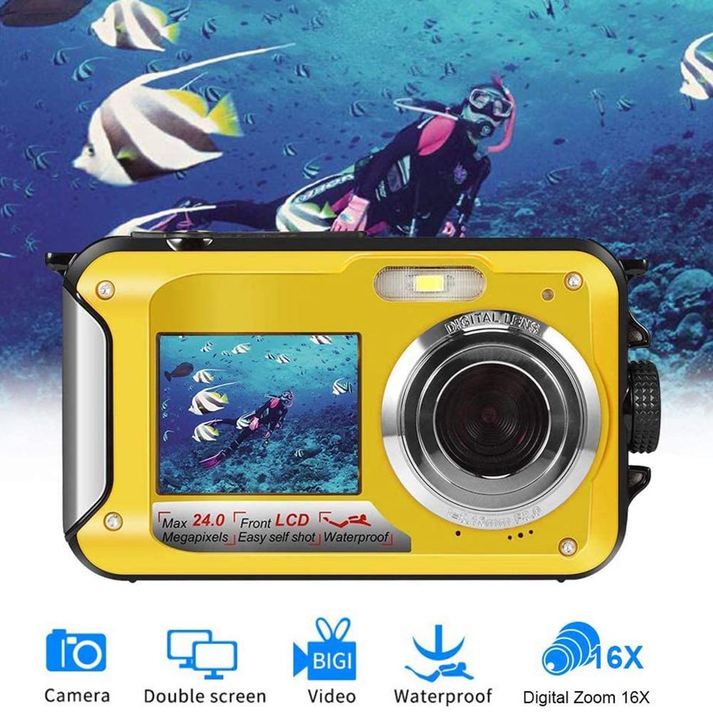 New dual-screen camera waterproof high-definition brush camera DV camera cameras for photography dslr camera  digital camera enlarge