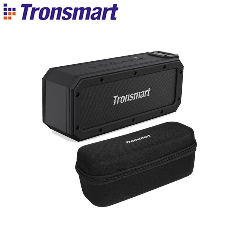 Tronsmart Element Force+ Portable Bluetooth 5.0 SoundPulse Speaker with IPX7 Waterproof,TWS,NFC,40W Max Output,Voice Assistant